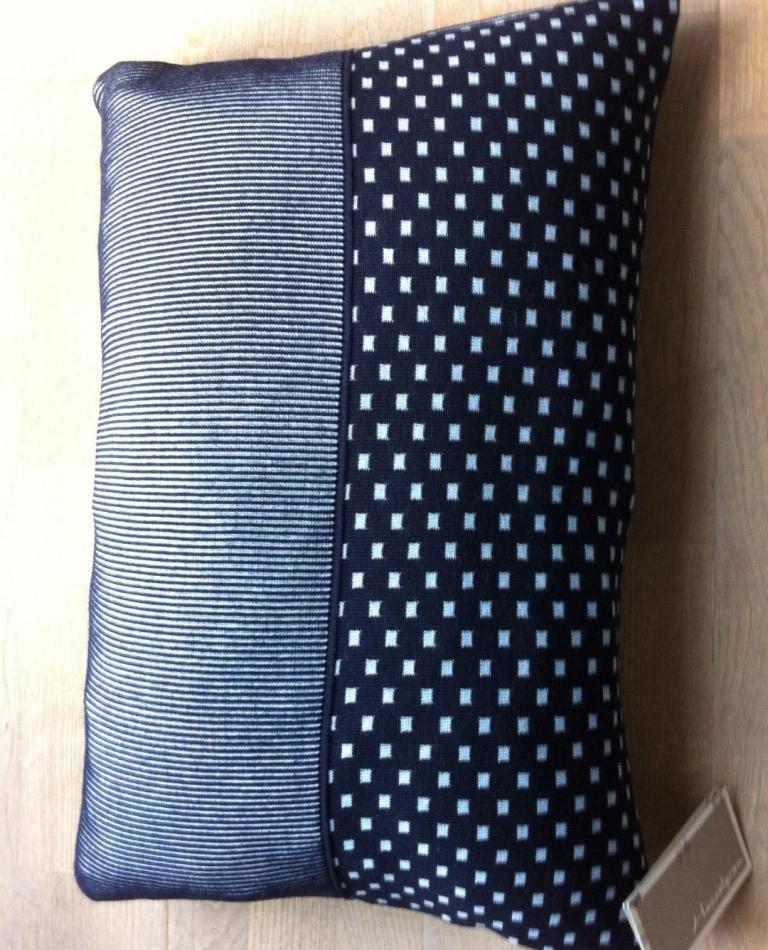 Pude - 40x60 - Black / Jeans blue