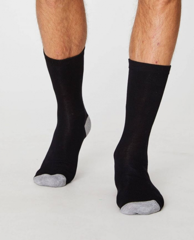 SOLID JACK SOCKS SPM250 BLACK