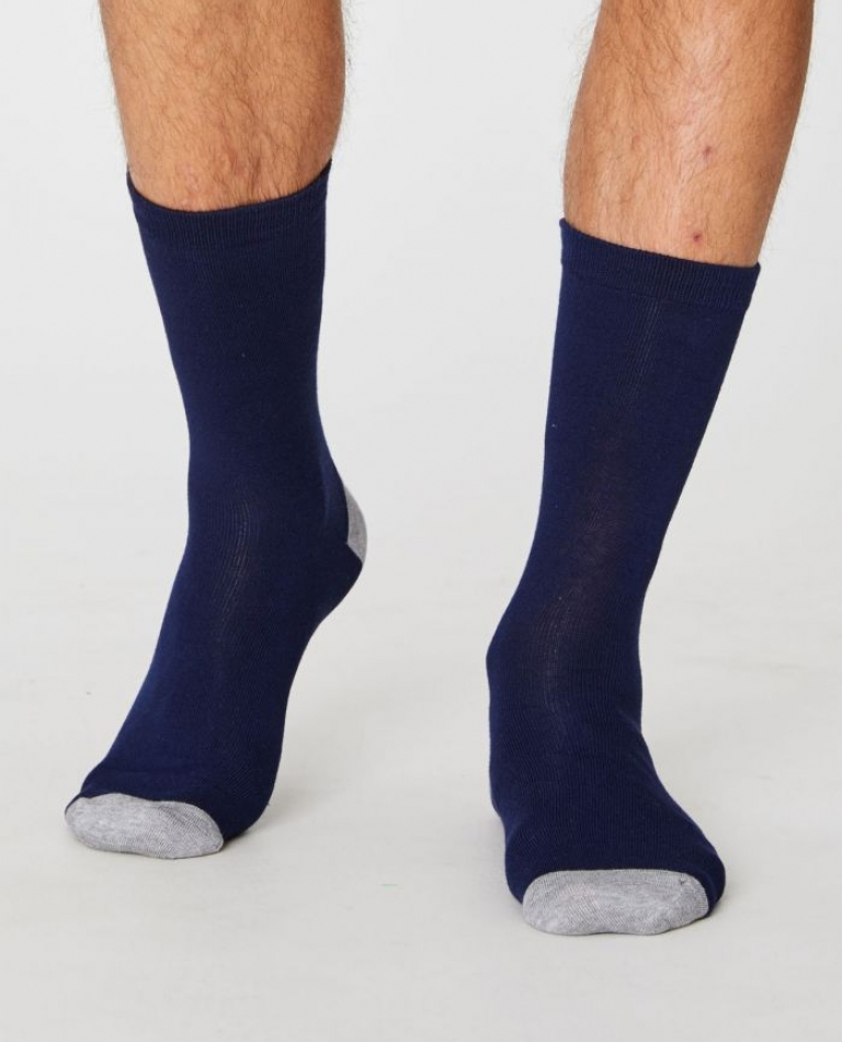 SOLID JACK SOCKS SPM250 NAVY