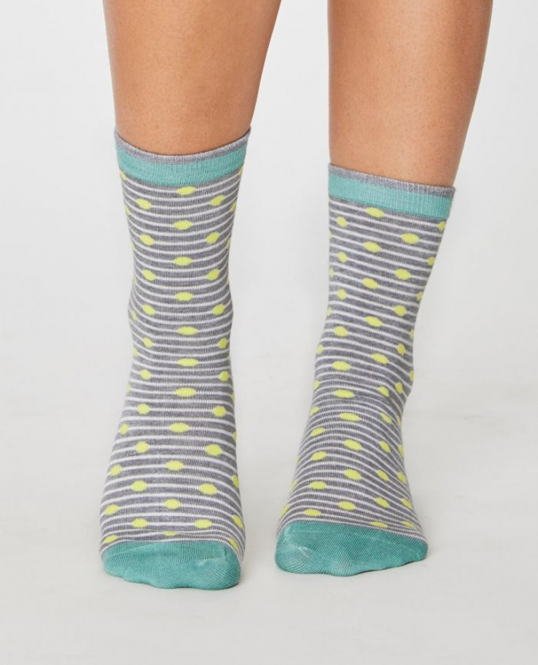 Ballad Socks grey mable